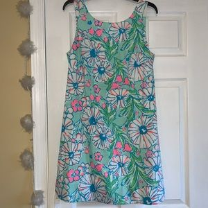 Lilly Pulitzer Multi-Color Flower Cocktail Dress